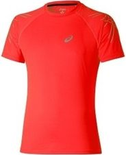 Tričko Asics Stripe SS Top - red