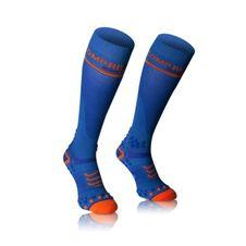 COMPRESSPORT blau-Socken Strümpfe voll V2. 1