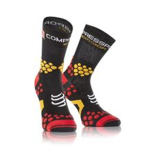 COMPRESSPORT Socken Socken-schwarz/rot Trail V2. 1