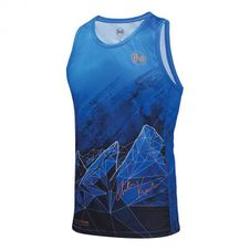T-Shirt Buff Anton-blau