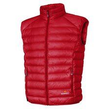 Warmpeace Drake Vest - red